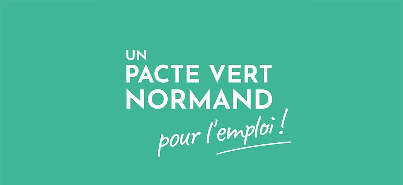 Le Pacte Vert Normand pour l'emploi