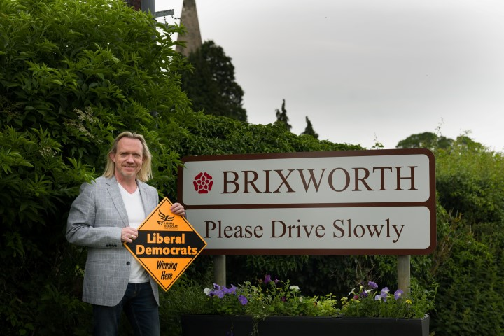 Jonathan Harris wins the Brixworth By-election