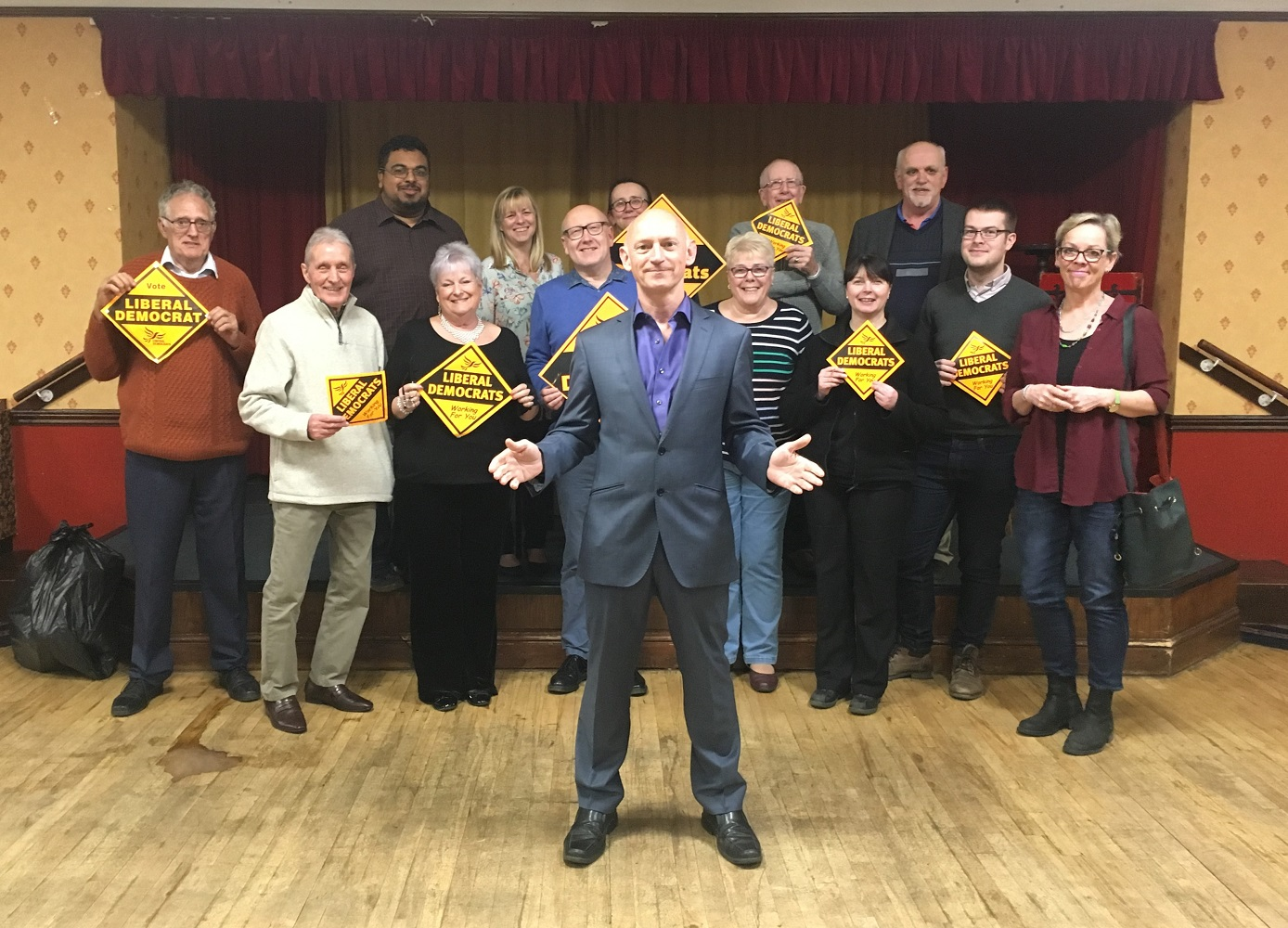 Martin Sawyer selected by Lib Dems for Northampton North