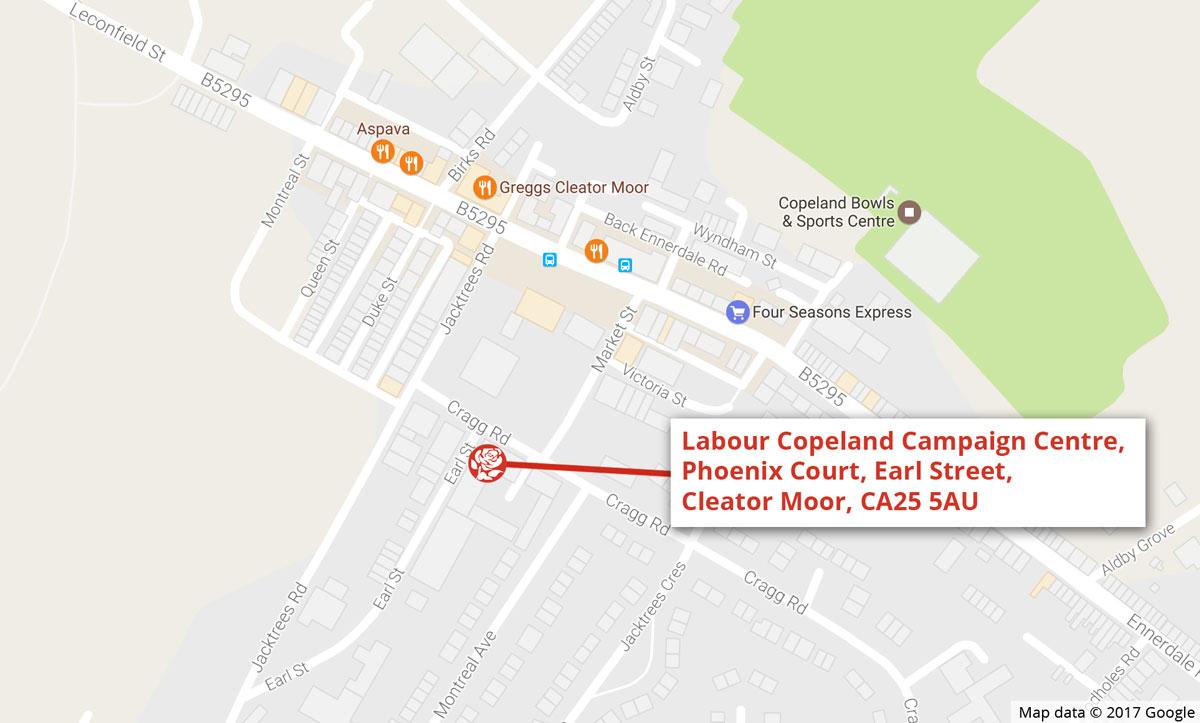 Copeland Labour Campaign Centre