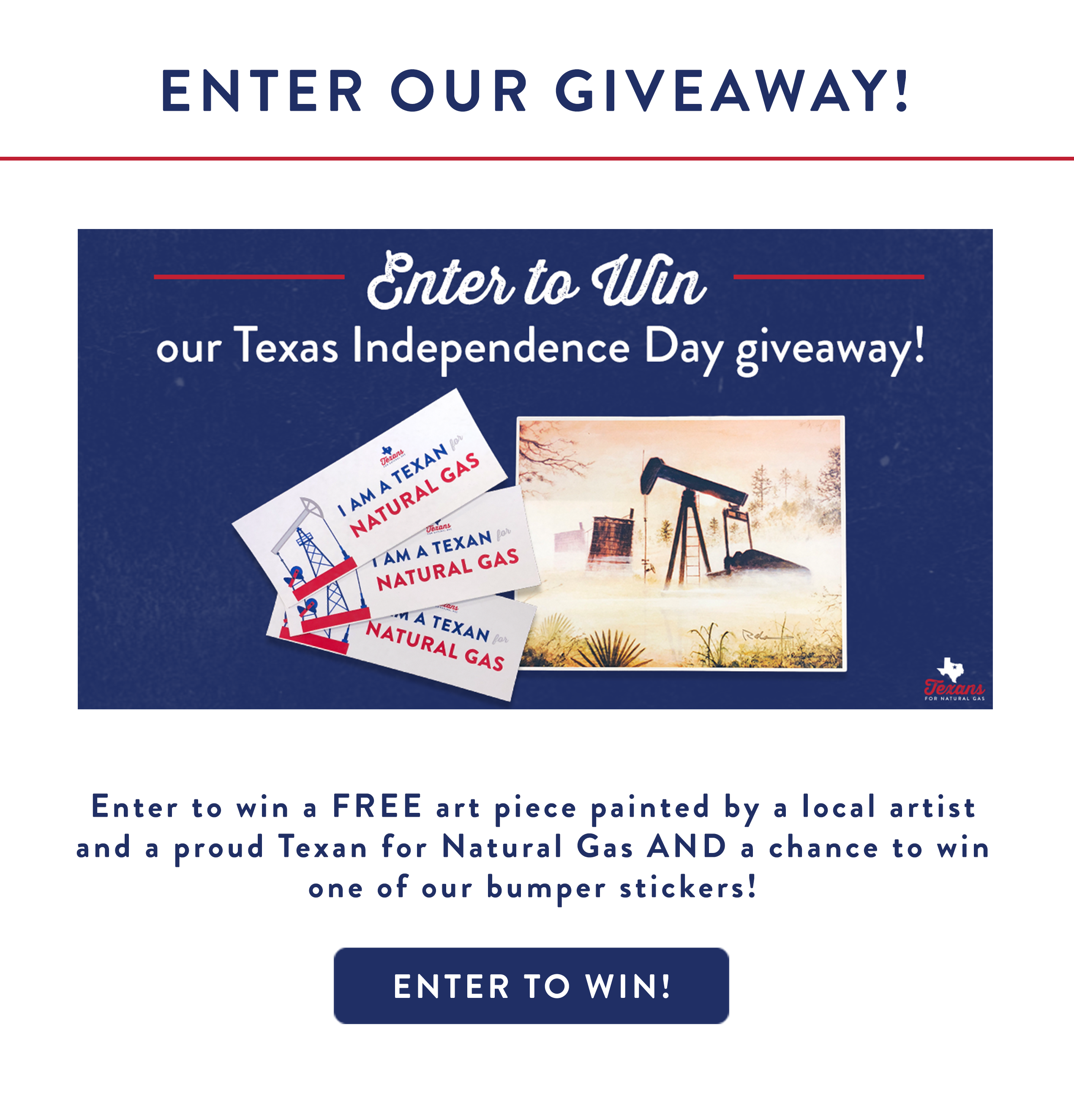Texas Independence Day Giveaway
