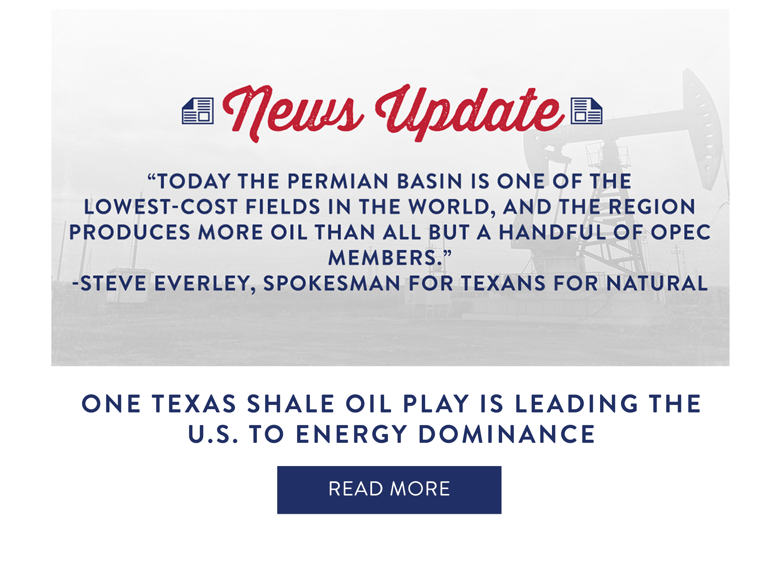 One Texas Shale Oil Play Is Leading The U.S. To Energy Dominance