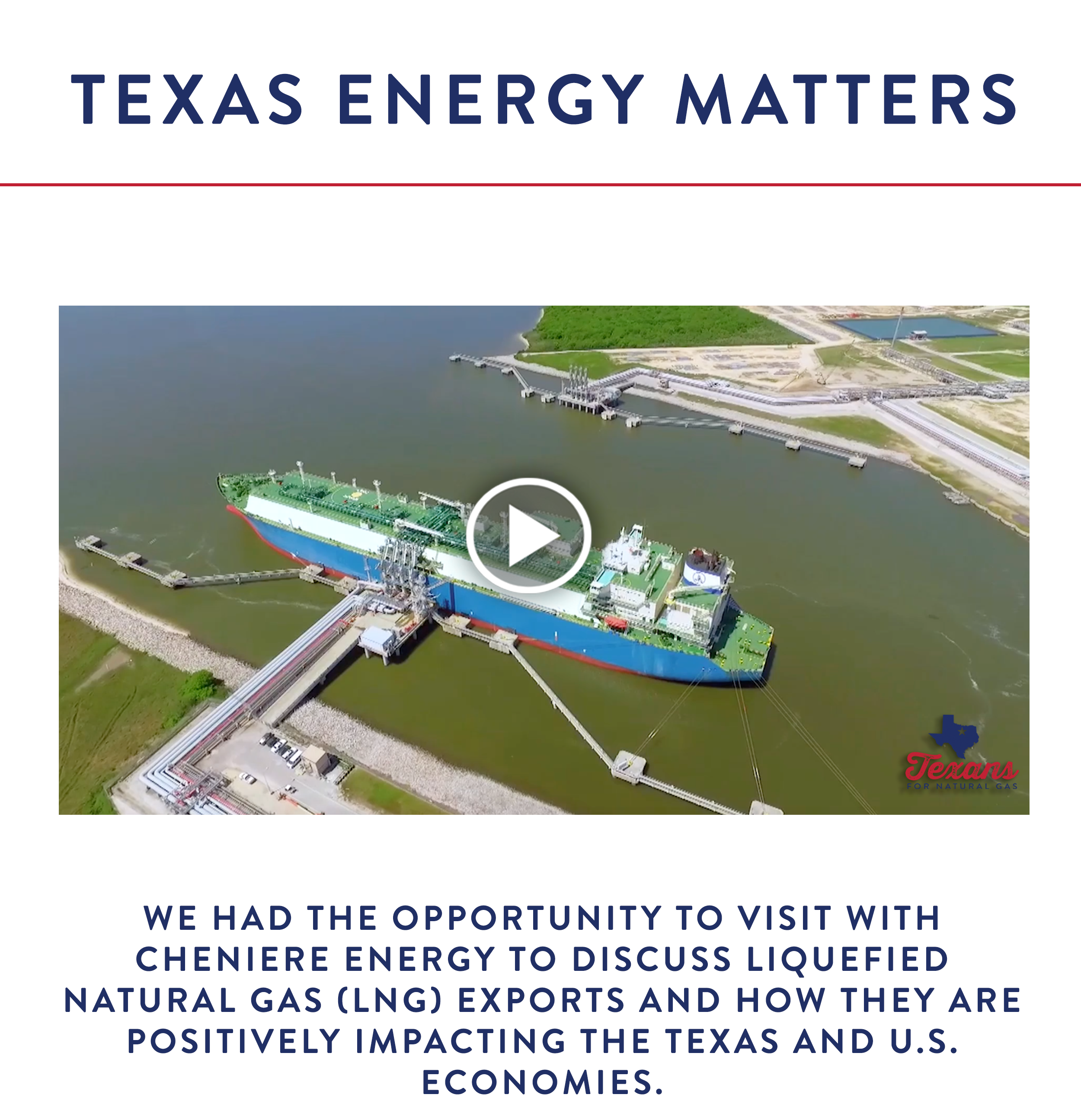Click Here To Learn More About LNG
