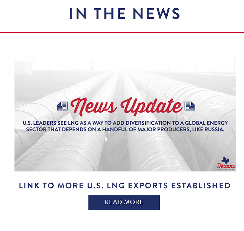 Link to More U.S. LNG Exports Established