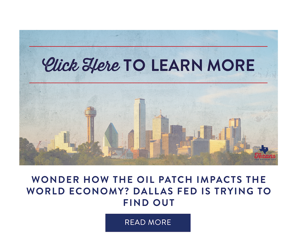 Wonder how the Oil Patch impacts the world economy? Dallas Fed is trying to find out