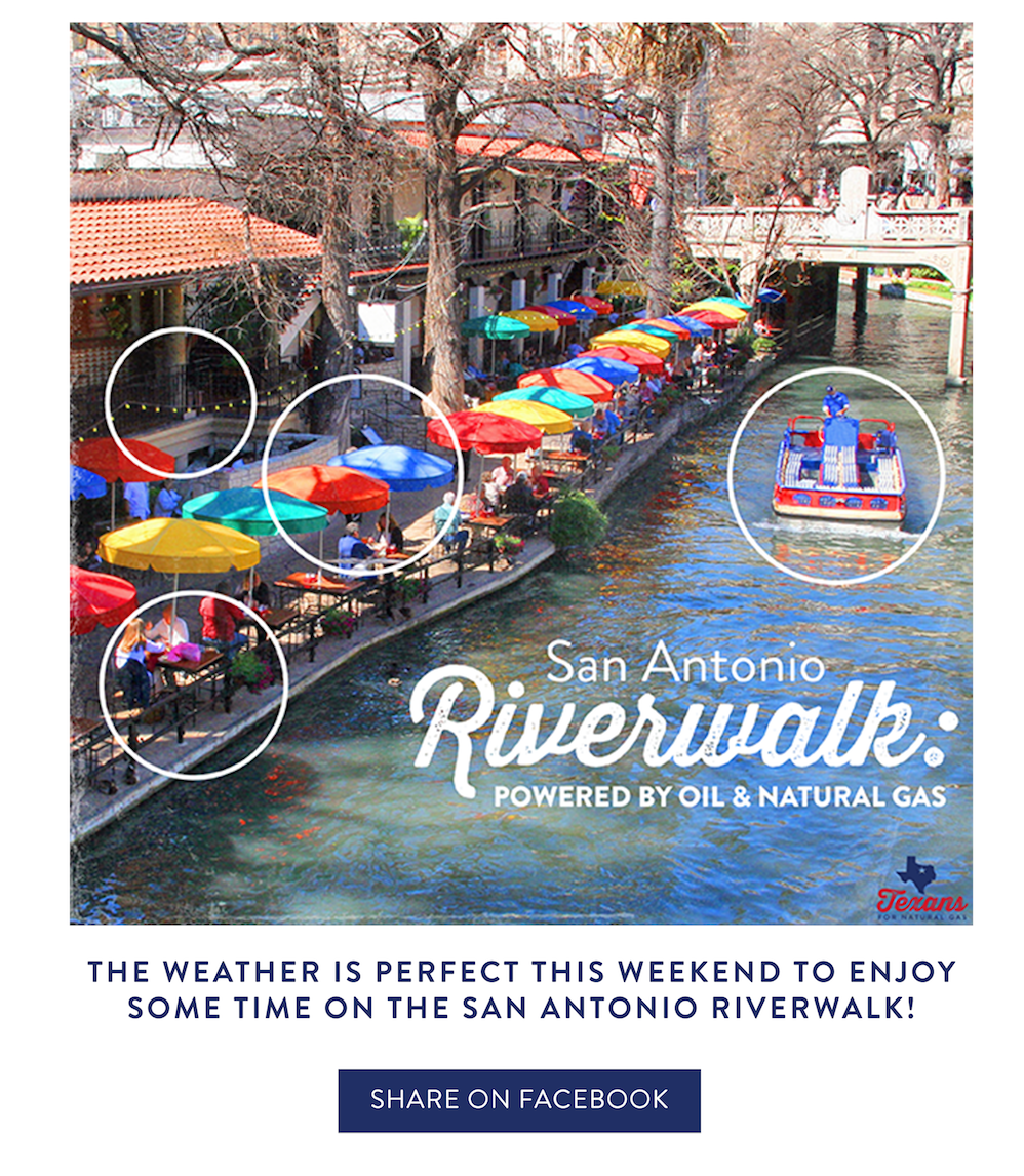 The San Antonio Riverwalk: Brought To You By Oil & Gas