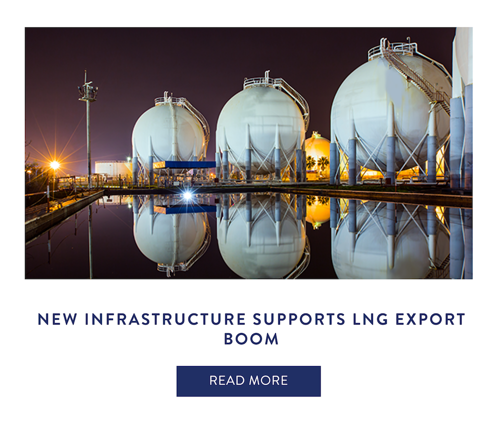 New Infrastructure Supports LNG Boom