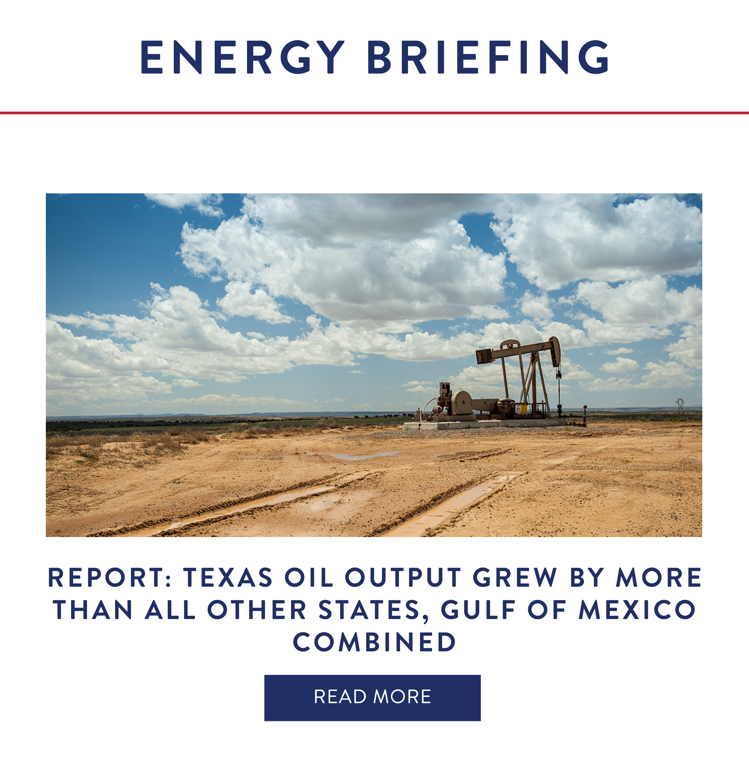 Report: Texas Oil Output Grew by More Than All Other States, Gulf of Mexico Combined
