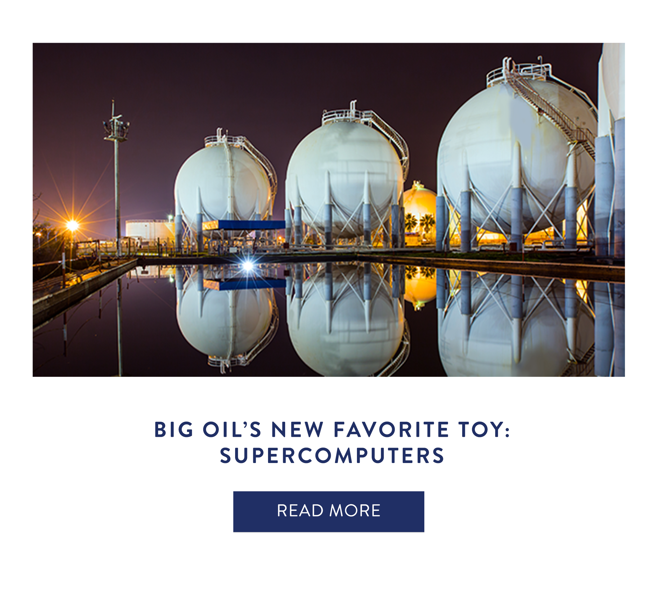 Big Oil's New Favorite Toy: Supercomputers