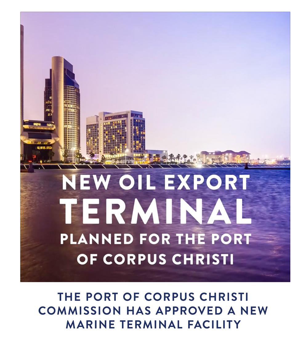 New oil export terminal!