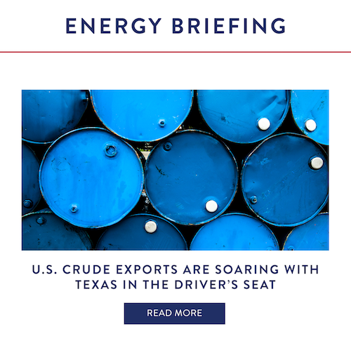 U.S. Crude Exports Are Soaring With Texas In The Driver's Seat