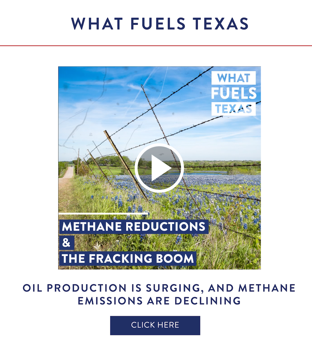 What Fuels Texas: Methane Reductions & The Fracking Boom