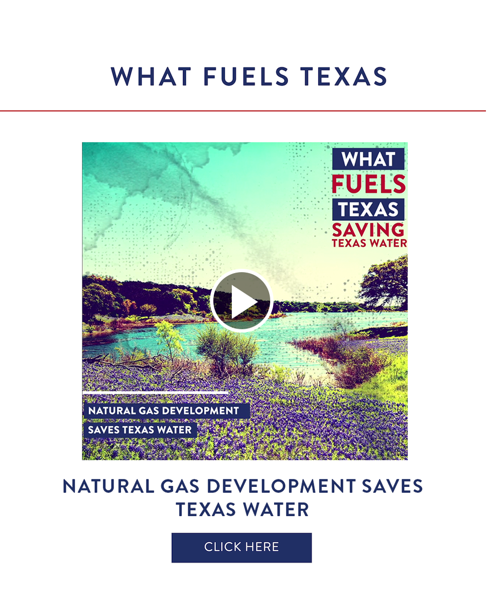 What Fuels Texas: Saving Texas Water