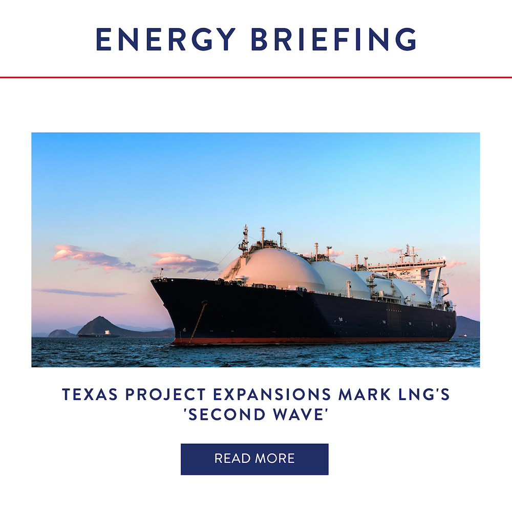 Texas Project Expansions Mark LNG's 'Second Wave'