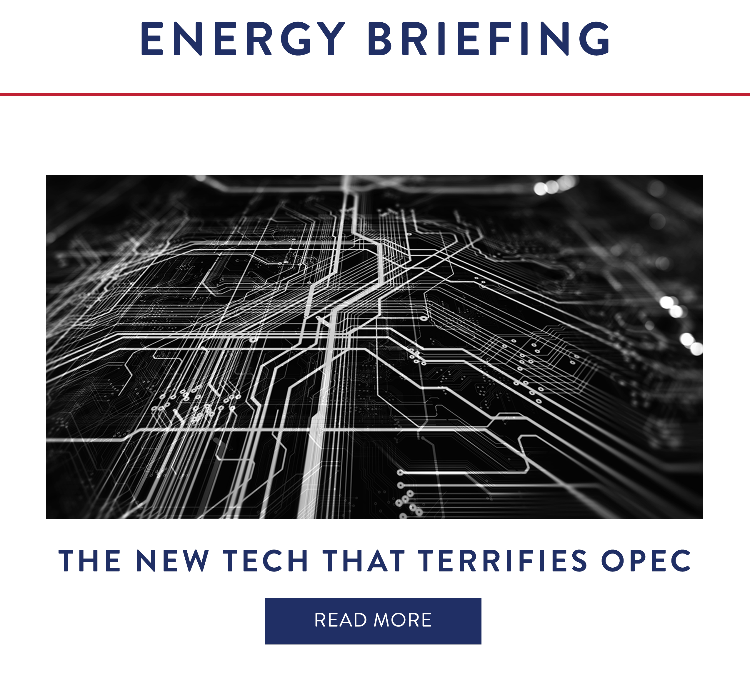 The New Tech That Terrifies OPEC