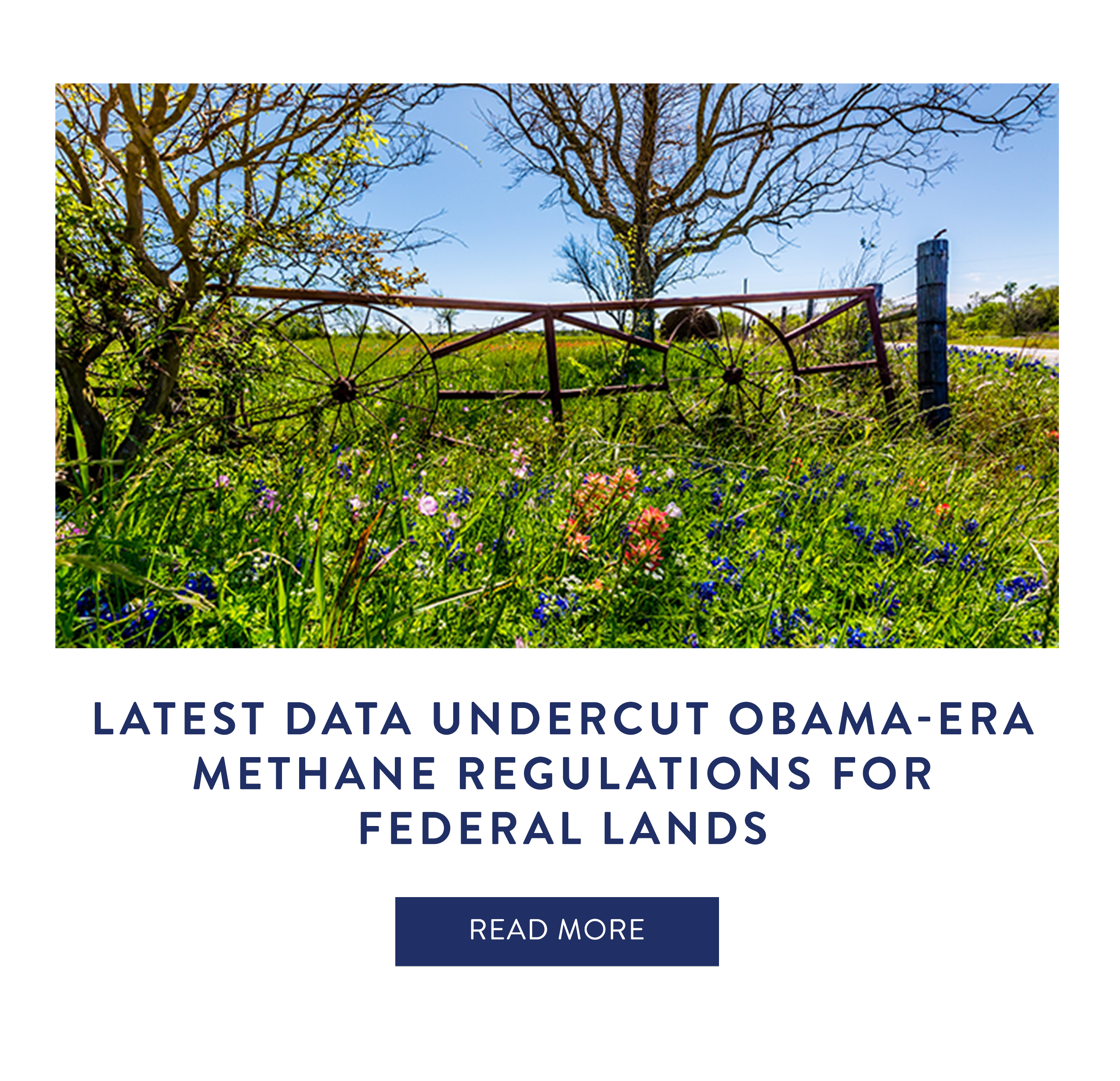Latest Data Undercut Obama-Era Methane Regulations for Federal Lands