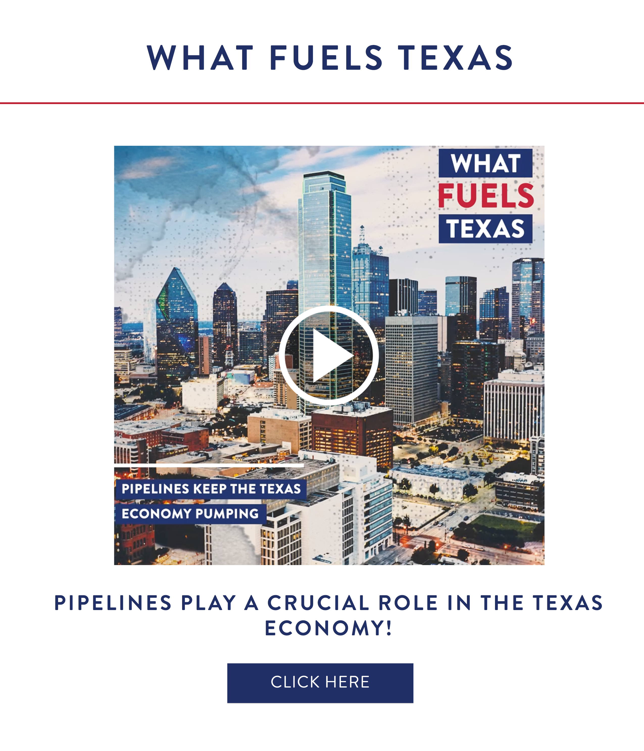 What Fuels Texas: Pipelines