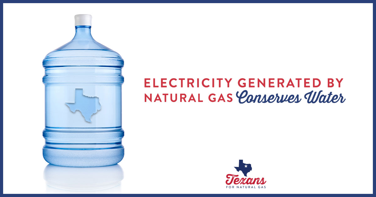 Support Water Conservation in Texas