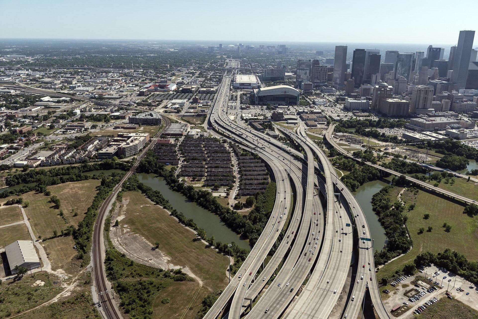 Houston Aerial View