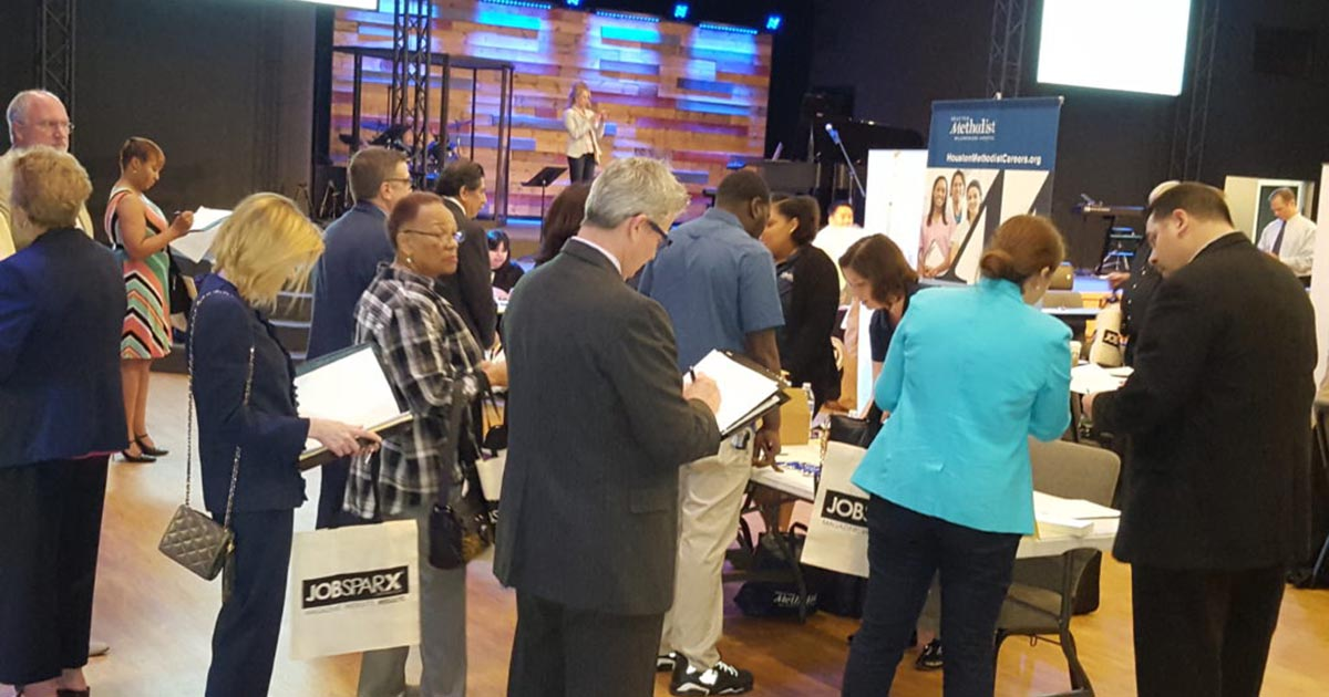 Over 400 Job Seekers Attended the NAM/BJM Spring 2018 Career Fair