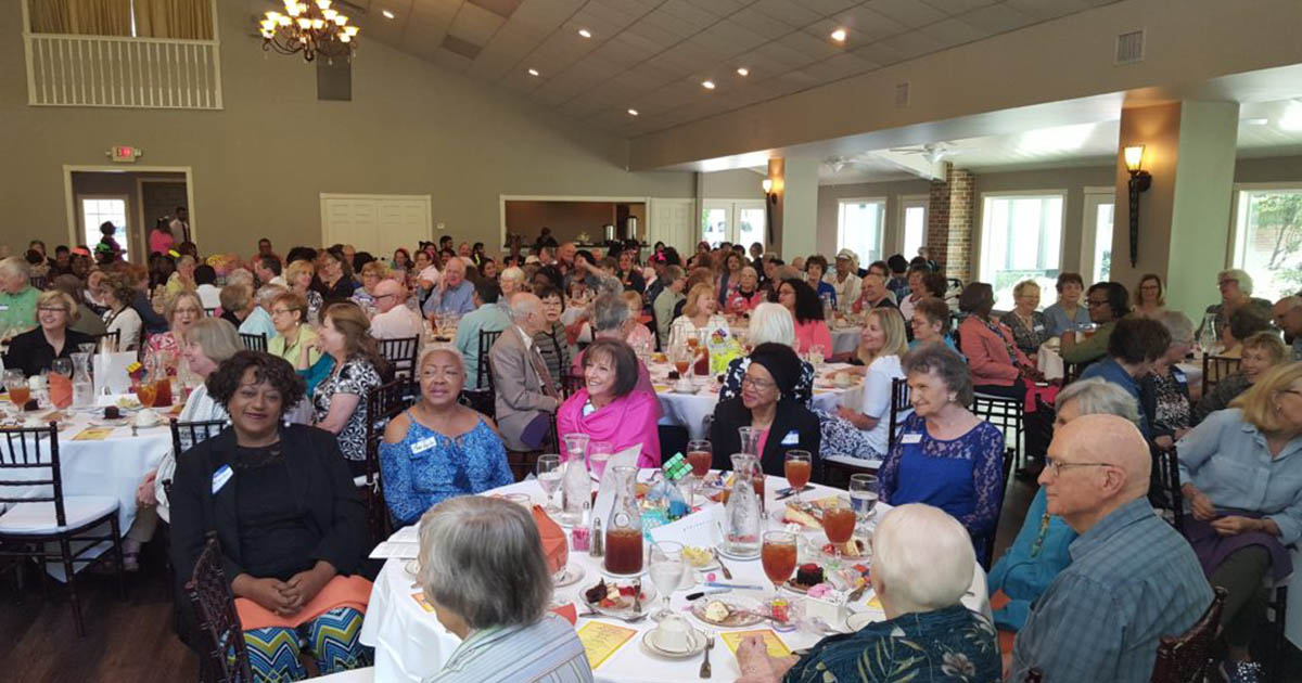 Northwest Assistance Ministries Honors Volunteers at 80's Themed Appreciation Luncheon and Carole Little
