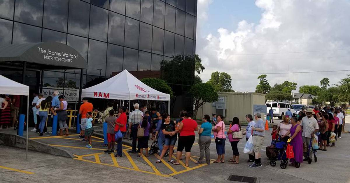 NAM Hosts Mobile Food Pantry and Back to School Supply Distribution