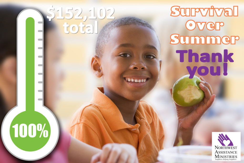 NAM Surpasses its Goal for the Survival Over Summer Campaign!