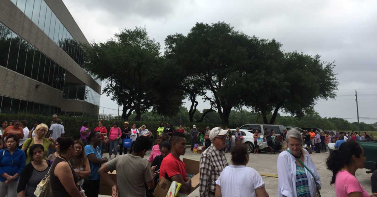 Northwest Assistance Ministries Hosted its First Mobile Food Pantry
