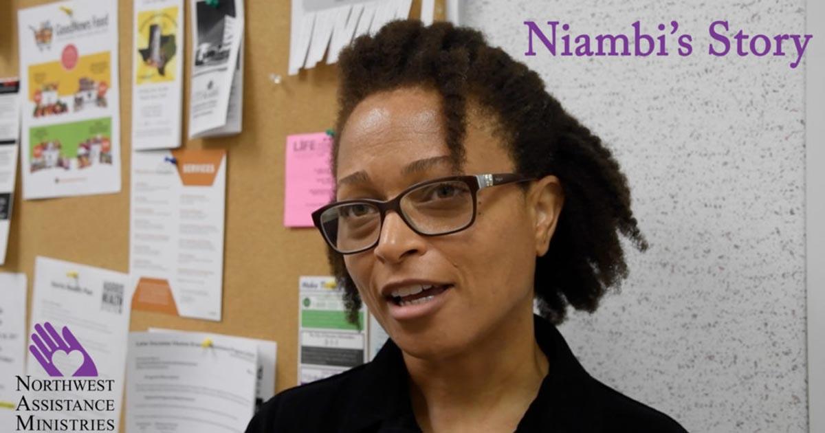 Watch Niambi's Story in NAM's New Video