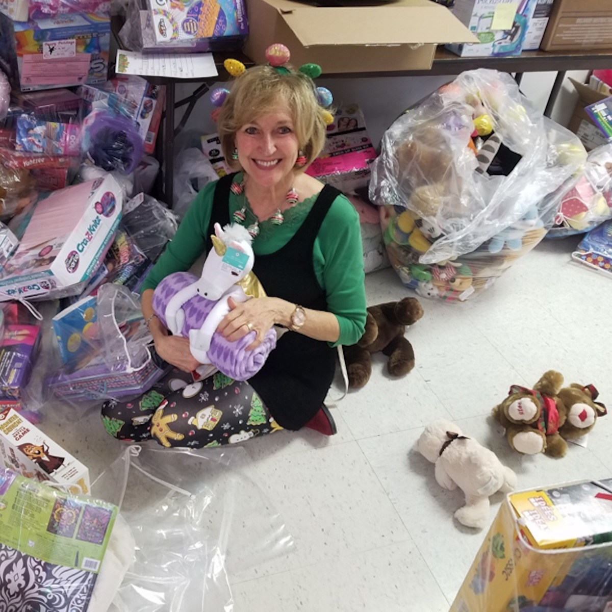 2018 NAM Holiday Project: Food & Toy Distribution