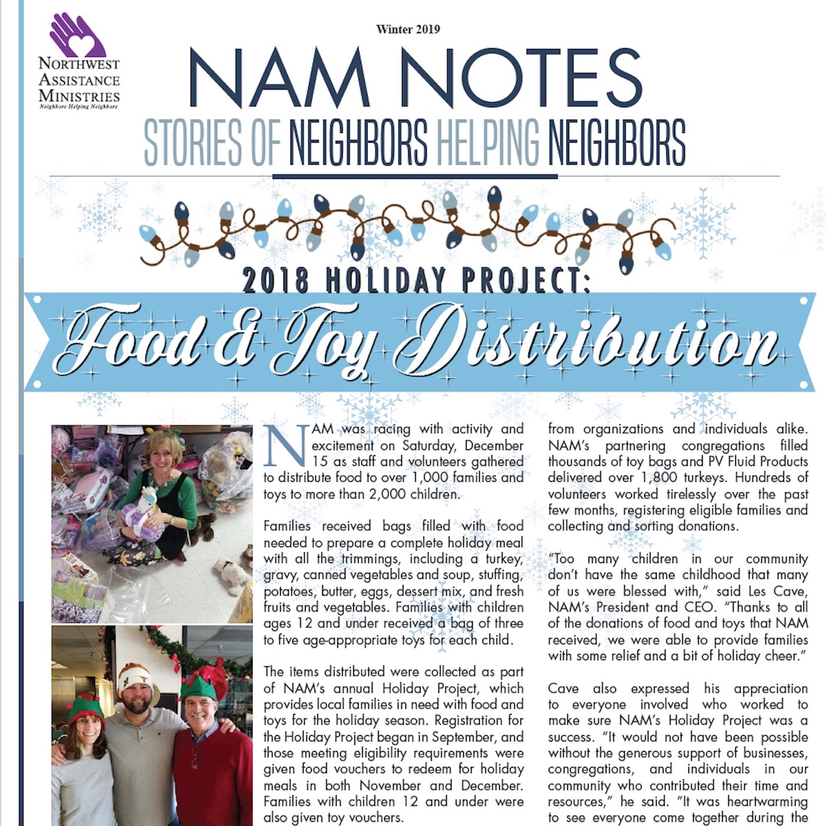 NAM Notes Winter 2019
