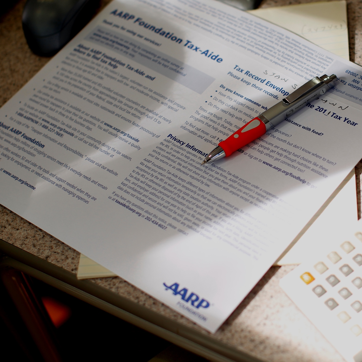 NAM Partners with AARP to Offer Free Tax Help