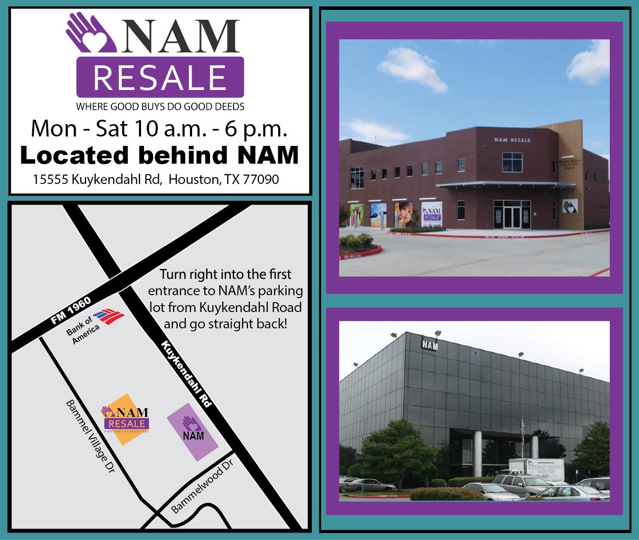 NAM Map