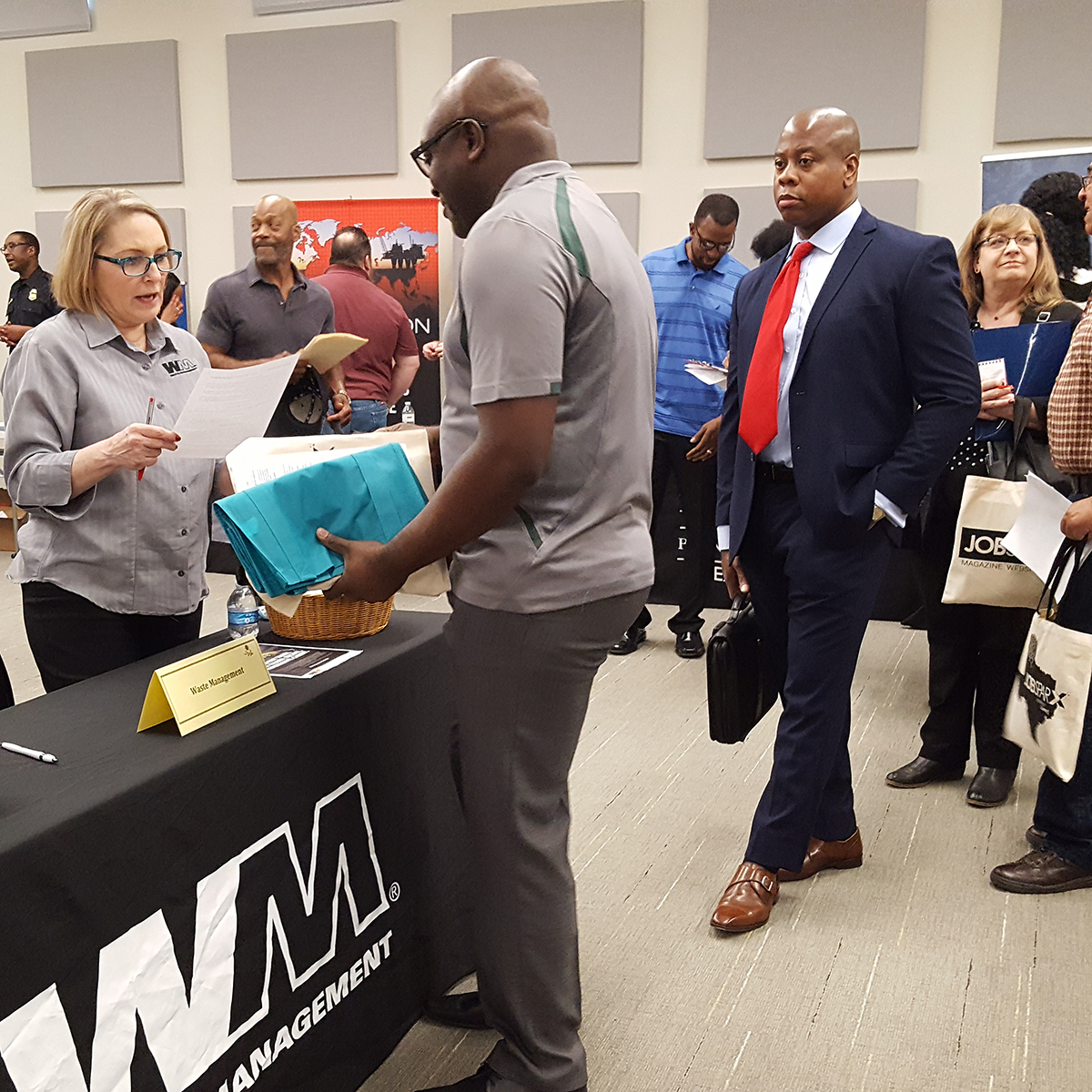 Opportunity Knocks at the NAM/BJM 2019 Spring Career Fair
