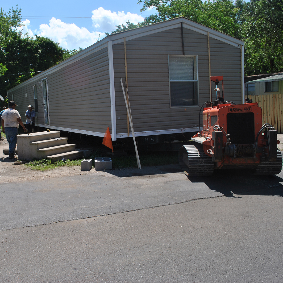 Disaster Relief Provides New Trailer for Family