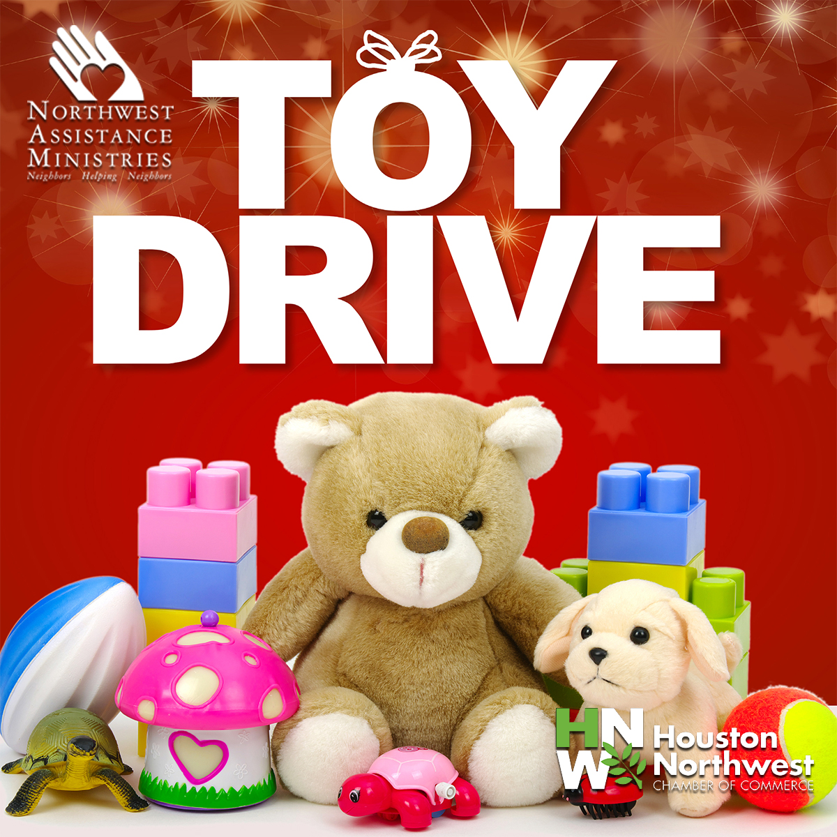 Bring a Toy to North by Northwest for NAM