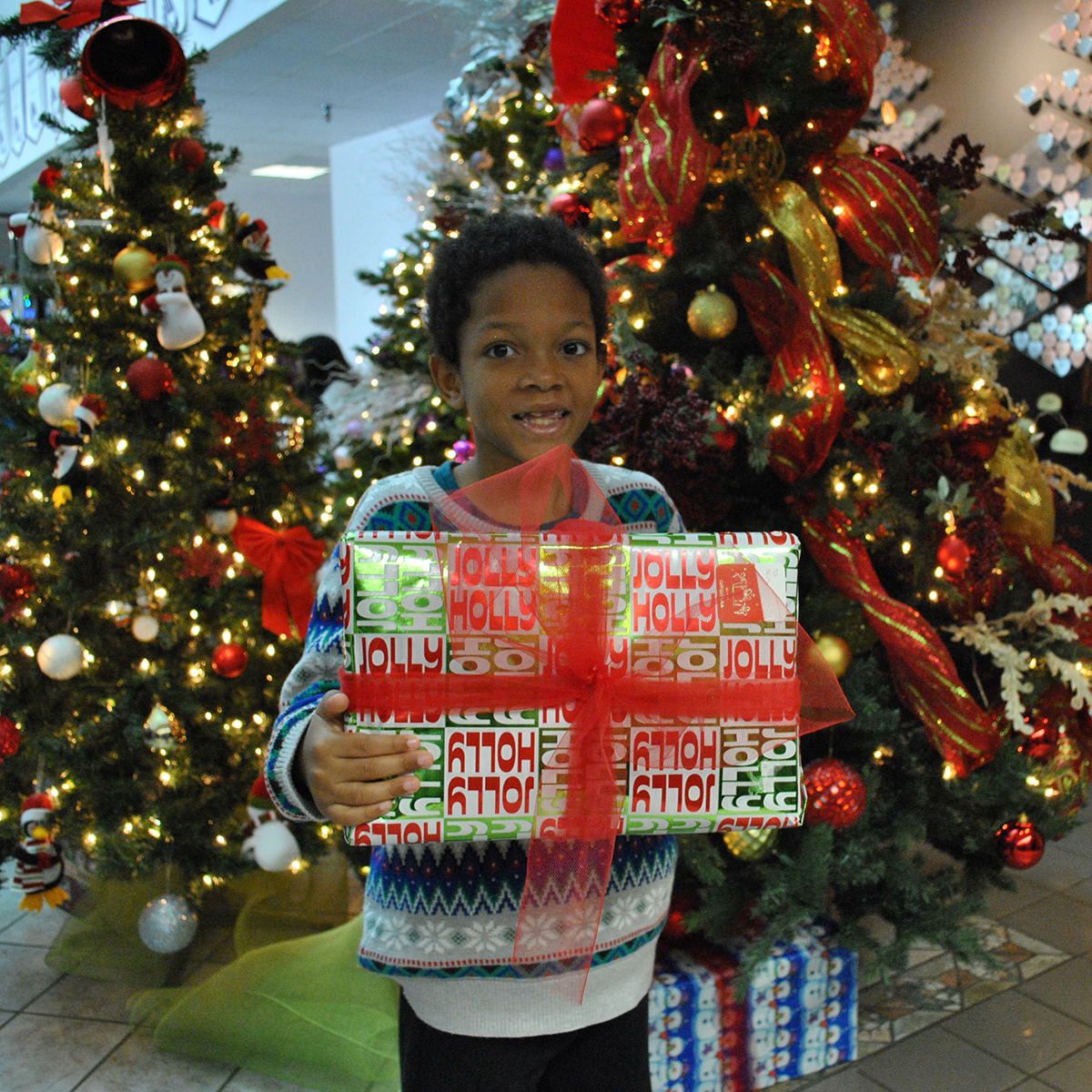 NAM Distributes Toys and Holiday Meals to Families
