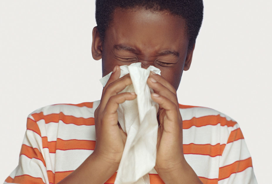 Cover Coughs & Sneezes with a tissue