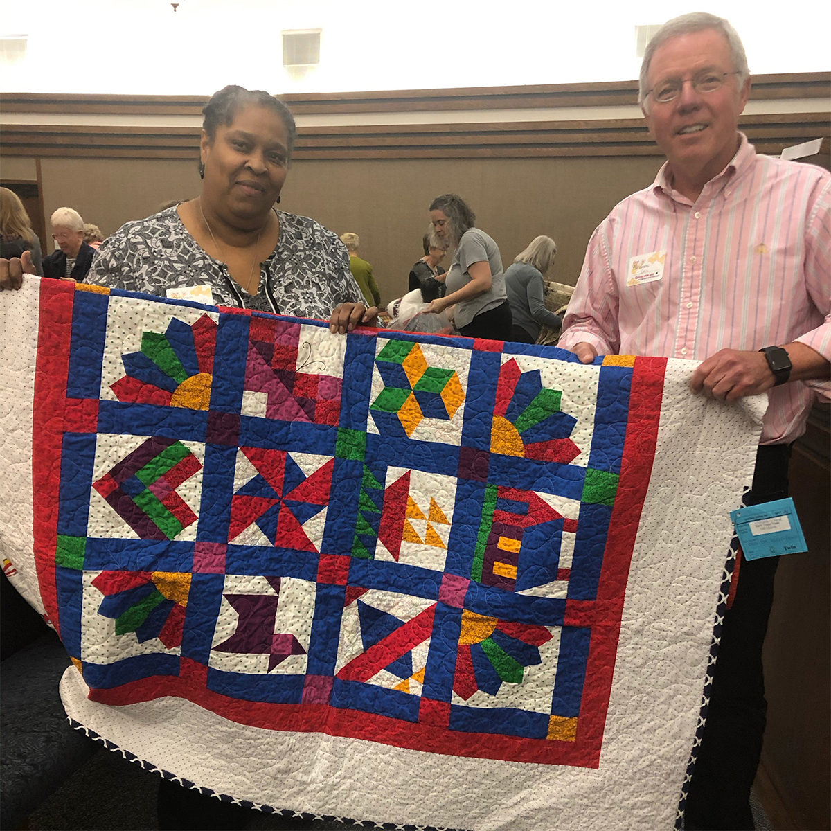 2020 Vision Quilted with Love
