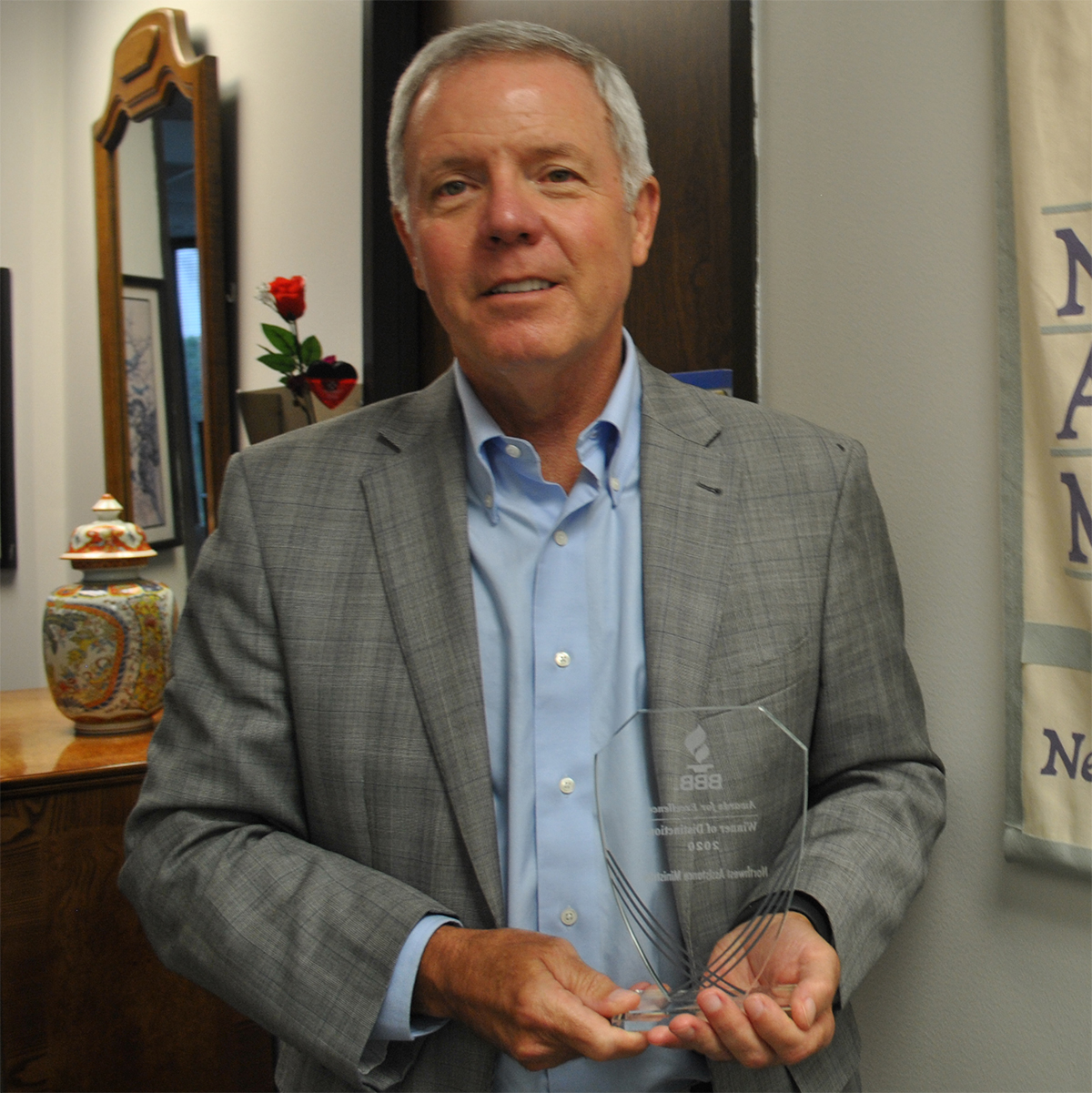 Better Business Bureau Recognizes Northwest Assistance Ministries with 2020 Winner of Distinction Award