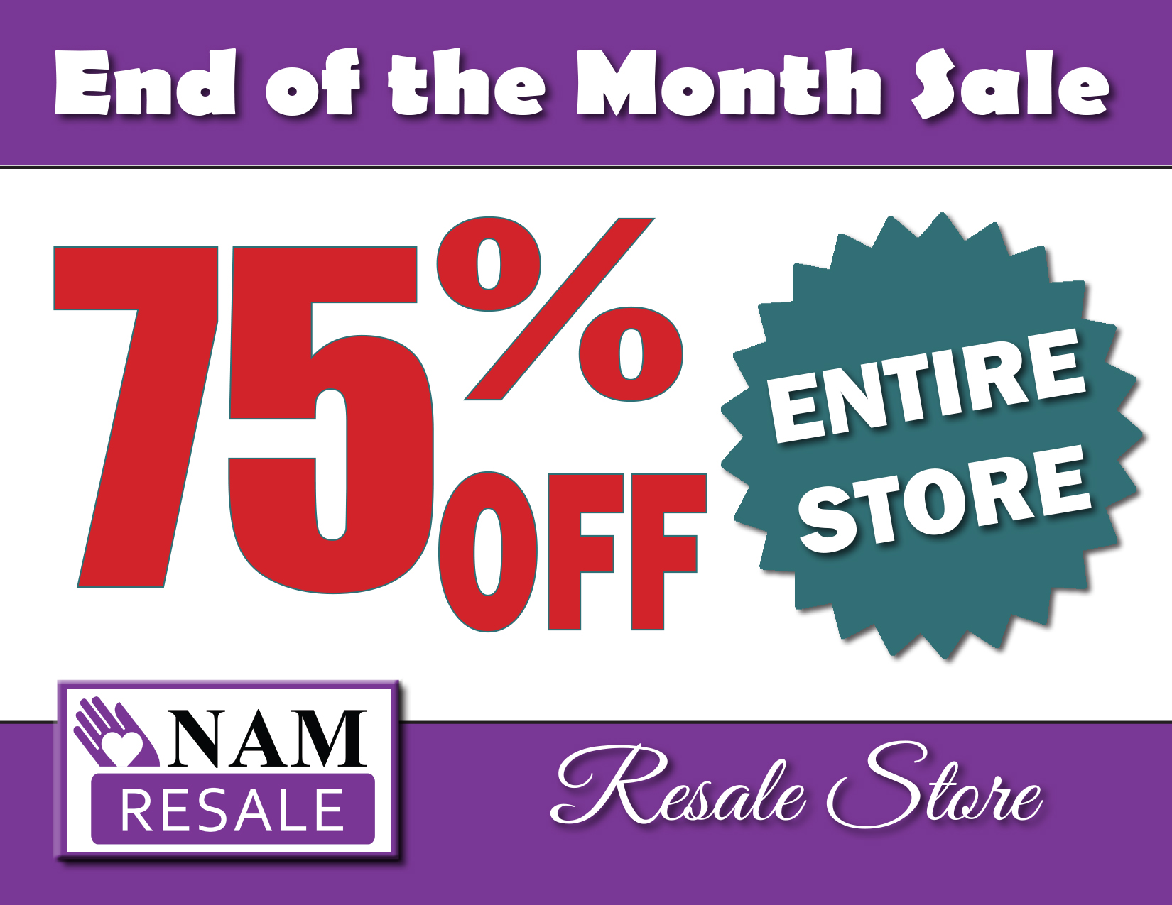 End of the Month Boutique Sale