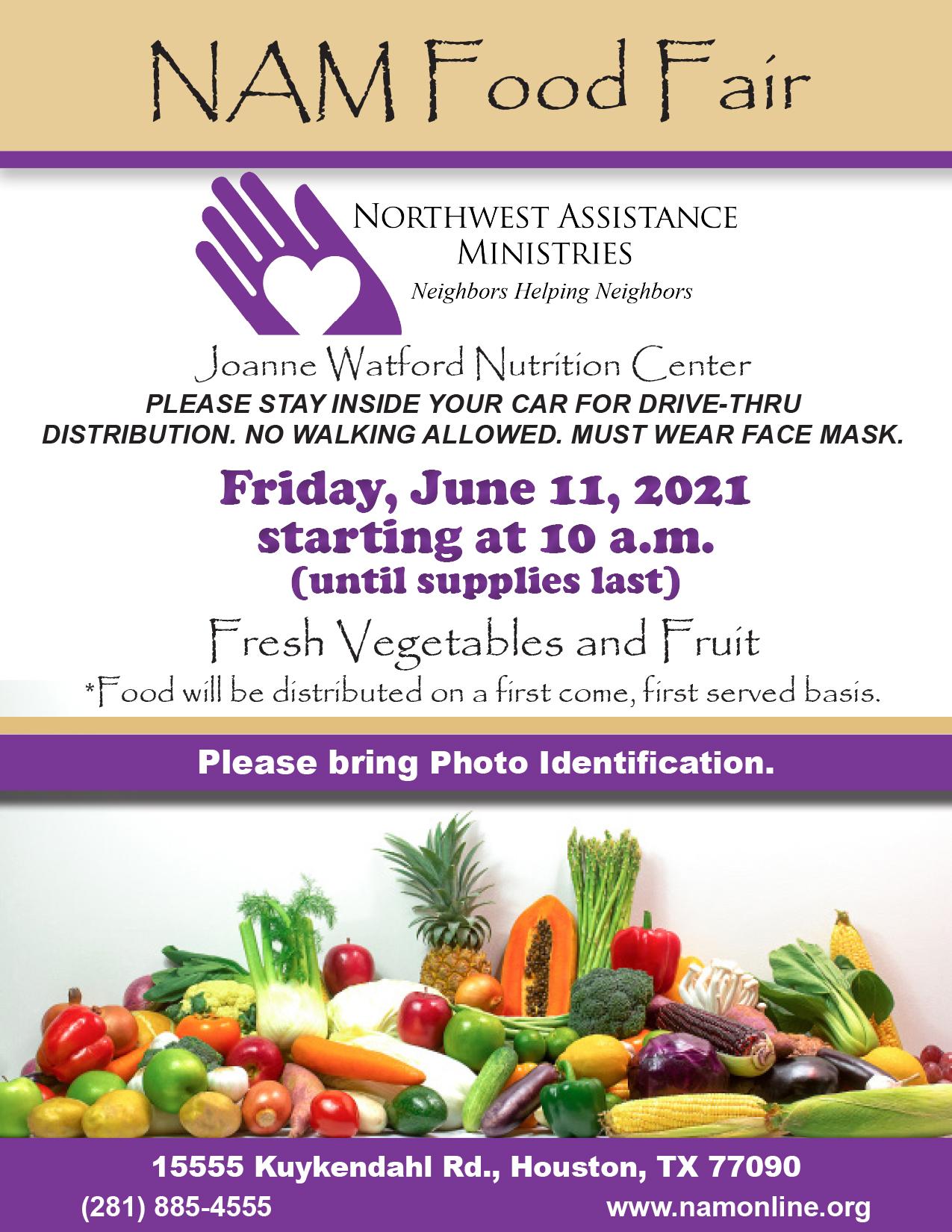NAM Food Fair June 11, 2021