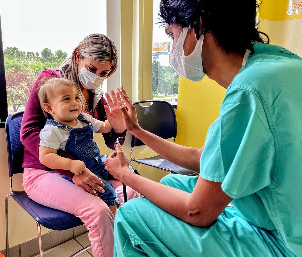 NAM's Pediatric Health Center Seeing A Decline in Pediatric Covid19