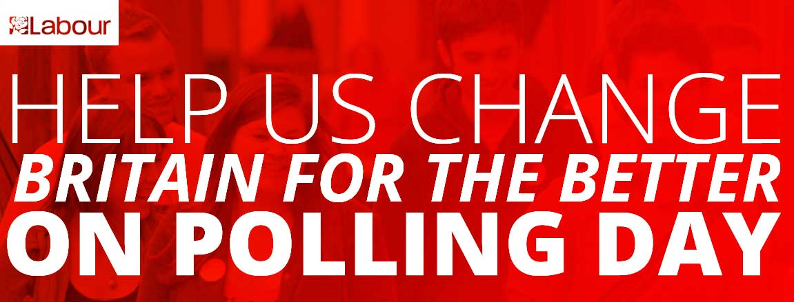 Help us win on Polling Day