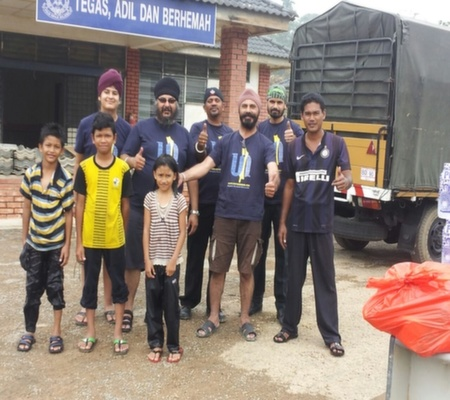 Taking to the Skies and Reaching Out to the Forgotten Communities of Malaysia
