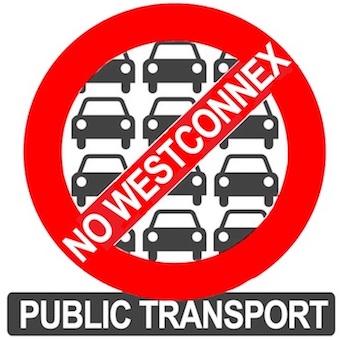 NoWestConnex: Public Transport