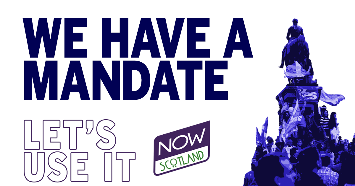 A4 POSTER: We have a mandate - let's use it