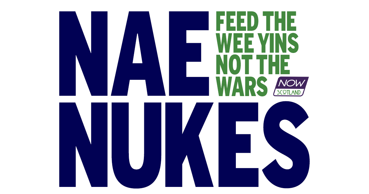 A4 POSTER: Nae Nukes