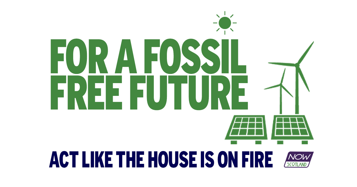 A4 POSTER: Fossil Free Future