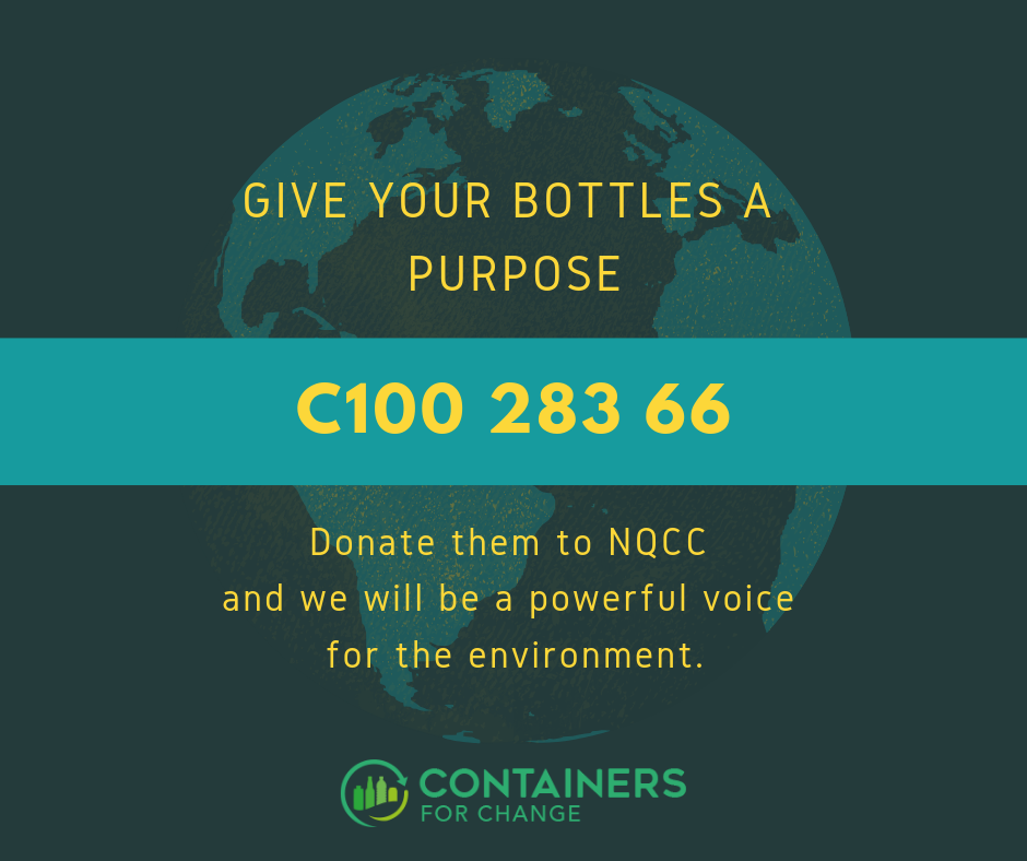 Container deposit number